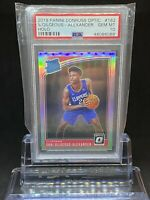 🔥2018 Panini Donruss Optic SHAI GILGEOUS-ALEXANDER Holo #162 RC Rookie PSA 10🔥