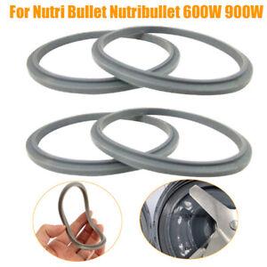 4pcs Rubber Gasket Juicer Seal Ring Parts For Nutri Bullet Nutribullet 600W 900W