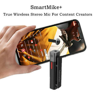 Wireless Bluetooth Microphone for Zoom Meeting Interview Video Recording Vlogger