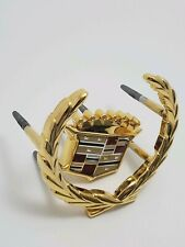 "1994-96 Cadillac Oncours Gold Wreath And Crest Front Grille Emblem ""new other"""