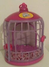 Little Live Pets Pink/Purple Bird Cage Cage Only