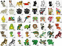 #1645R Animal Cartoon Craft Children Kids Embroidered Sew Iron On Patch Badge
