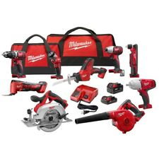 Milwaukee M18 2695-29CX Cordless Lithium Ion 9 Tool Combo Kit - BRAND NEW !!!
