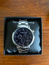 Kenneth Cole Men's KC50228005 Silver Stainless-Steel Japanese Quartz Style Watch