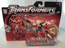 Transformers Robots in Disguise STORM JET 2002 Sealed Hasbro