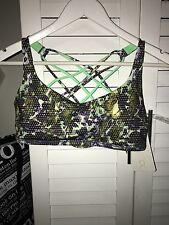 Lululemon Free To Be Bra * Wild Size Can 10 Brand New For Yoga Running Training