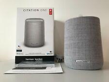 New Harman Kardon Citation One Smart Speaker Google Assistant Wi-Fi Bluetooth !!