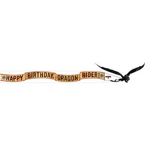How to Train Your Dragon 2 Happy Birthday Banner
