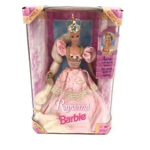 Barbie Doll Rapunzel Let my Hair Down from my Crown Again and Again 1997