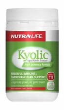 NutraLife Kyolic Aged Garlic Extract High Potency Formula 120 Capsules