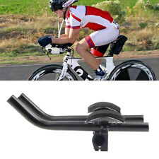Cycling Bike Bicycle Alloy Triathlon Rest Handlebar Clip Bars Road WH