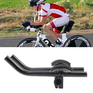 Cycling Bike Bicycle Alloy Triathlon Rest Handlebar Clip Bars Road HB