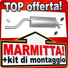 Scarico OPEL CORSA D 1.2 80CV / FIAT GRANDE PUNTO 1.4 77CV dal 2005 CCA