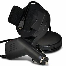 Windscreen Swivel Mini Mount Phone Holder In Car Kit Cradle+Charger✔HTC