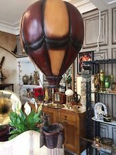 vintage hot air balloon wooden