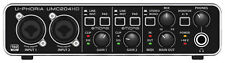 Behringer U-PHORIA UMC204HD USB Audio Interface. Brand New Stock.