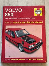 Haynes Manual 3260 - Volvo 850, 1992 to 1996, petrol