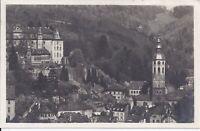 626 Baden Baden Schloss und  Stiftskirche 1927 Ansichtskarte Baden Württemberg