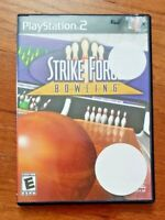 STRIKE FORCE BOWLING – SONY PLAYSTATION 2 (PS2) – VIDEO GAME
