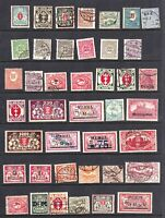 GERMANY SCHLESWIG DANZIG MEMEL COLLECTION LOT OG H M/M CANCELS 41 STAMPS