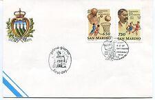1991-04-04 San Marino Centenario della pallacanestro ANNULLO SPECIALE Cover