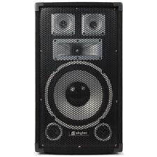 Skytec DJ PA System Boxen Verstärker Endstufe Kabel komplett Sound Musik Anlage