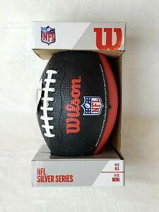 Wilson NFL Atlanta Falcons Silver Series Mini Football