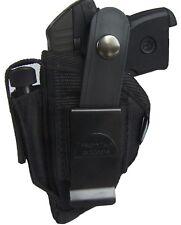 Gun Holster Fits Jennings J22 J25 FREE SHIPPING IN USA black Cordura OWB holster