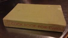 Ida Bailey Allen's Cook Book For Two 1957