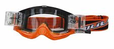 Wulf adulte mx Motorcross COULEUR racerpack Roll-Off goggle orange bc38437 T