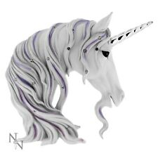 NEW SMALL UNICORN HEAD JEWELLED MAGNIFICENCE FANTASY ORNAMENT NEMESIS NOW BOXED