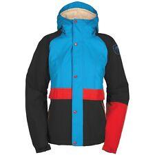 Bonfire CHARLIE 10K/8K Womens Series Snowboard Ski Jacket Pool Blue Medium NEW