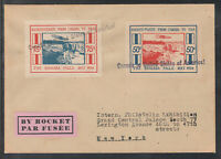 Canada / Kanada - rare First Canadian Rocket flight Cover from May 1936