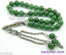 Aventurine stone prayer beads / worry beads / Tasbih /Masbaha / Rosary / Islam
