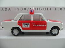 """Busch 50105 Lada 1200 / Shiguli 2101 (1971) """"FEUERWEHR / ELW"""" 1:87/H0 NEU/OVP"""