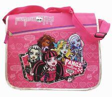 Monster High Pink Tall Messenger Bag Purse Goth Punk Psychobilly Messenger Bag