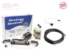 Kit de dirección hidráulico SeaStar HK6400A-3 con 18' mangueras HO5118 W HA5438 kit de relleno