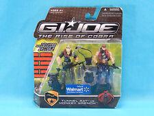 G.I. Joe The Rise of Cobra Tunnel Rat vs. Monkey Wrench Walmart Exclusive 2008