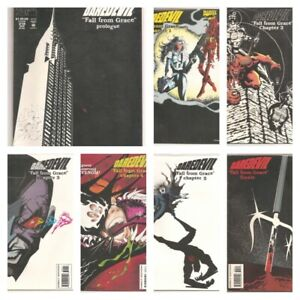 °DAREDEVIL #319 bis 325 FALL FROM GRACE 1 bis 6 von 6 +PROLOGUE° US Marvel 1993