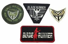 Blade Runner SET OF 4 Different Embroidered Iron-On Patches