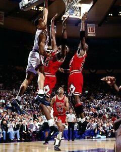 JOHN STARKS 8X10 PHOTO NEW YORK KNICKS NY BASKETBALL NBA