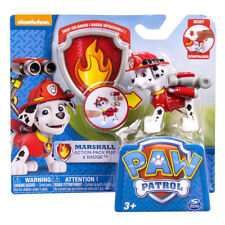 Paw Patrol Marshall Action Pack Pup Badge7cm Figurine