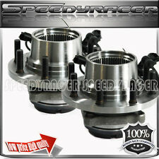 99 Ford F350 truck 4Wheel Drive Dually w/ABS  Wheel Bearing & Hub  Front 1pair