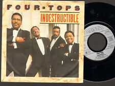"""FOUR TOPS Indestructible 7"""" SINGLE Are You With Me 1988"""