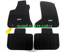 11-16 Chrysler 300 AWD Slate Gray Slush Floor Mats All Weather NEW MOPAR GENUINE