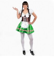 Swedish German Beer Tavern Wench Gretchen Girl Dress Roleplaying Costume L NEW