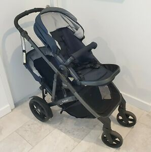 Double pram stroller - Britax B-ready in excellent condition