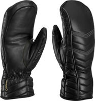 NEW $140 Leki Womens Cortina Goretex Waterproof Ski Mittens Gloves Ladies Black