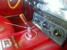 Maserati Mistral, Indy transmission leather shift boot attachment chrome fitting