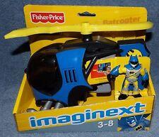 IMAGINEXT 2008 DC SUPER FRIENDS BATCOPTER SET WITH BATMAN FIGURE